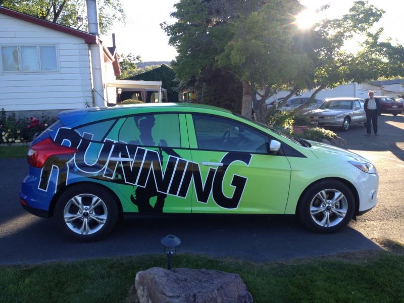 Ford Focus Car Wrap